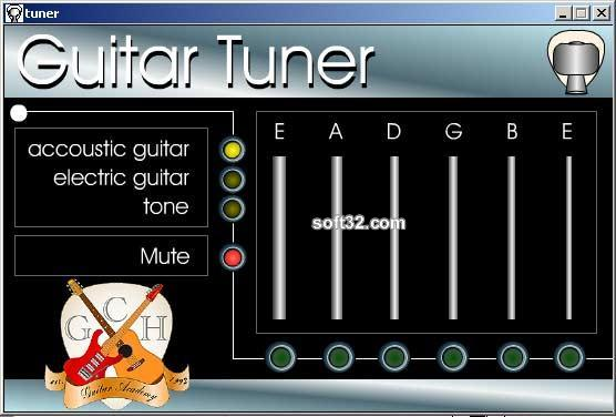 Free Guitar tuner Screenshot 3