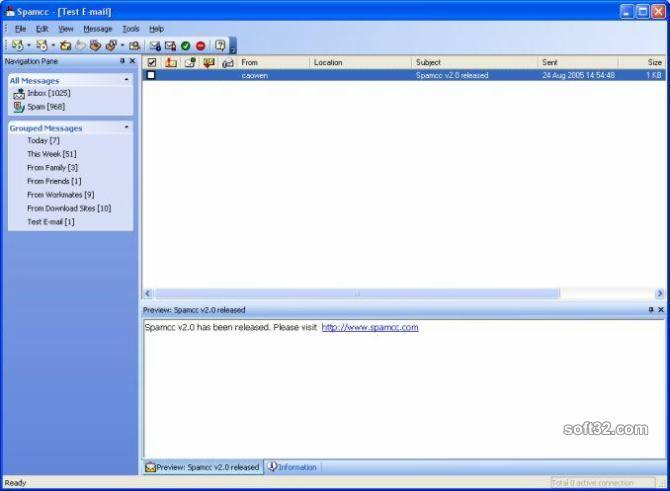Spamcc Pro Screenshot 3