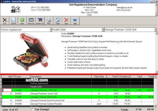 Catalyst Catalog Builder Screenshot 2