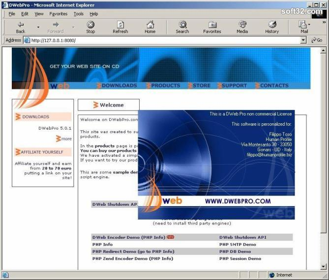 DWebPro Screenshot 3
