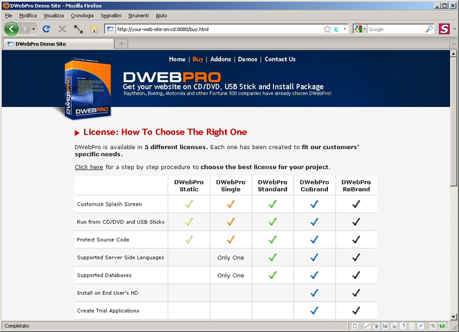 DWebPro Screenshot 1