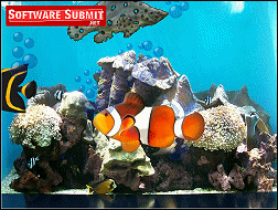 Aquarium Screensaver by Server Connectix Screenshot