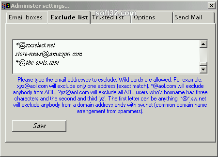 SpamGuard Screenshot 3
