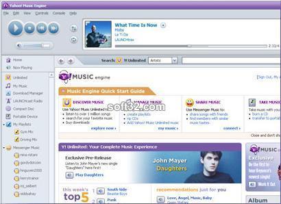Yahoo! Music Jukebo Screenshot 2