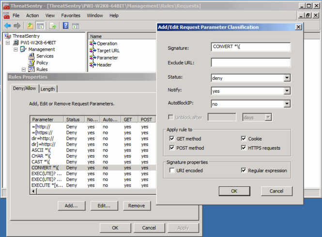 ThreatSentry Screenshot
