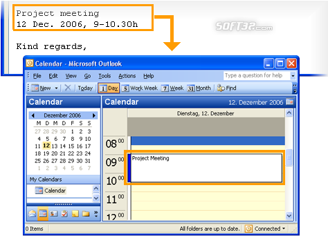 copy2calendar Screenshot 2