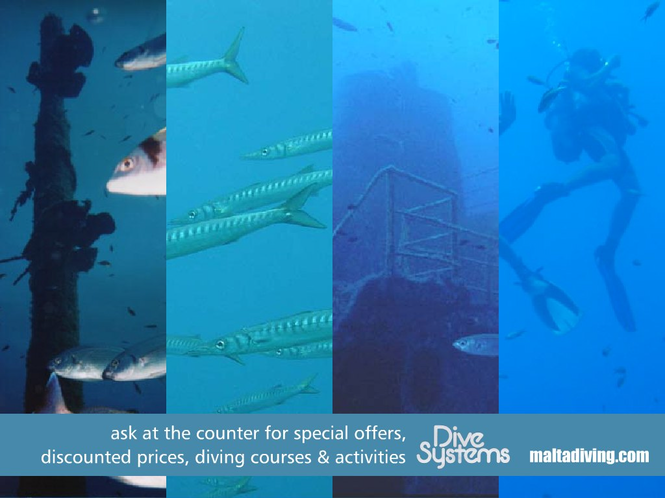 MaltaDiving.com Screenshot