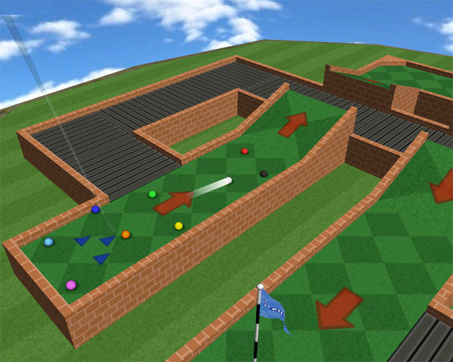 Mini Golf Mayhem Screenshot