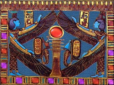 Egyptian Hieroglyphics 3D Screensaver Screenshot 1