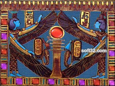 Egyptian Hieroglyphics 3D Screensaver Screenshot 2