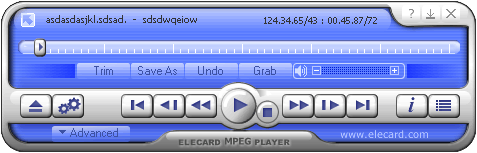 Elecard MPEG Player Screenshot 1