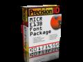 PrecisionID MICR E13B Fonts 1