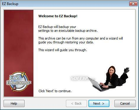 EZ IncrediMail Backup Pro Screenshot 2