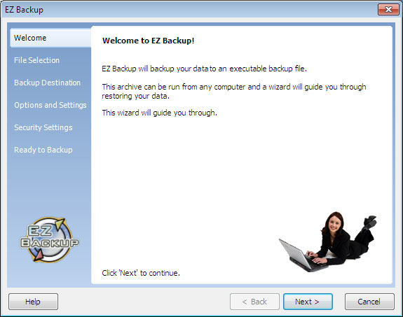 EZ Outlook Backup Pro Screenshot 1