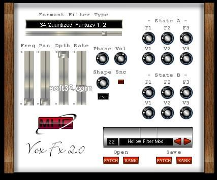 Vox FX Mac Screenshot 2