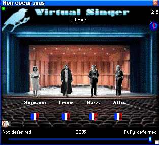 Virtual Singer Screenshot