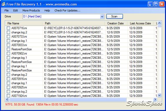 VAIOSoft Recovery Manager V1 Screenshot 1