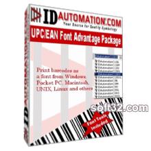 IDAutomation UPC EAN Barcode Fonts Screenshot 2