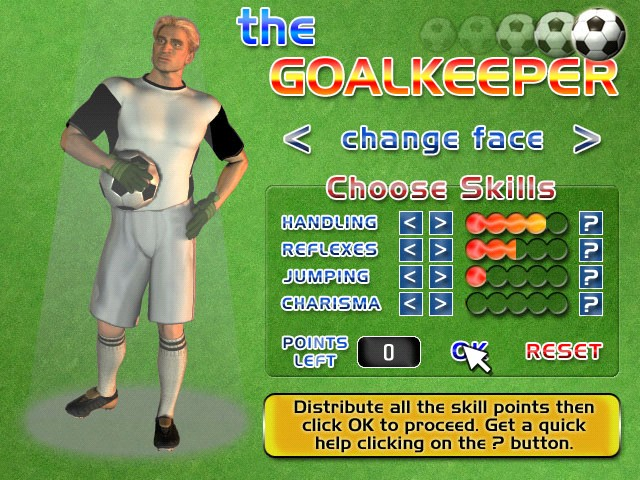 The Goalkeeper (Mac) Screenshot
