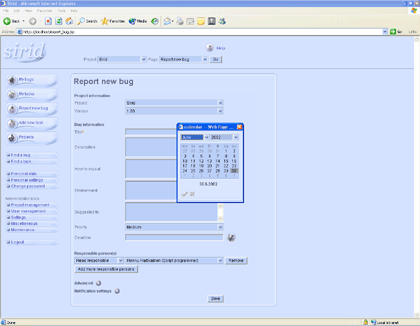 Sirid for Windows Screenshot