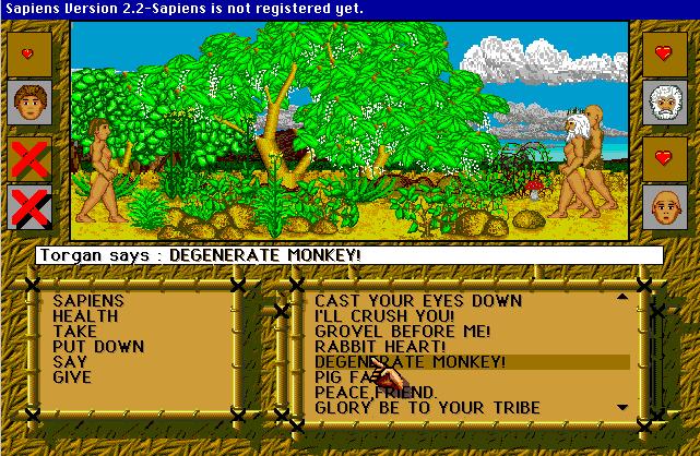 Sapiens Screenshot