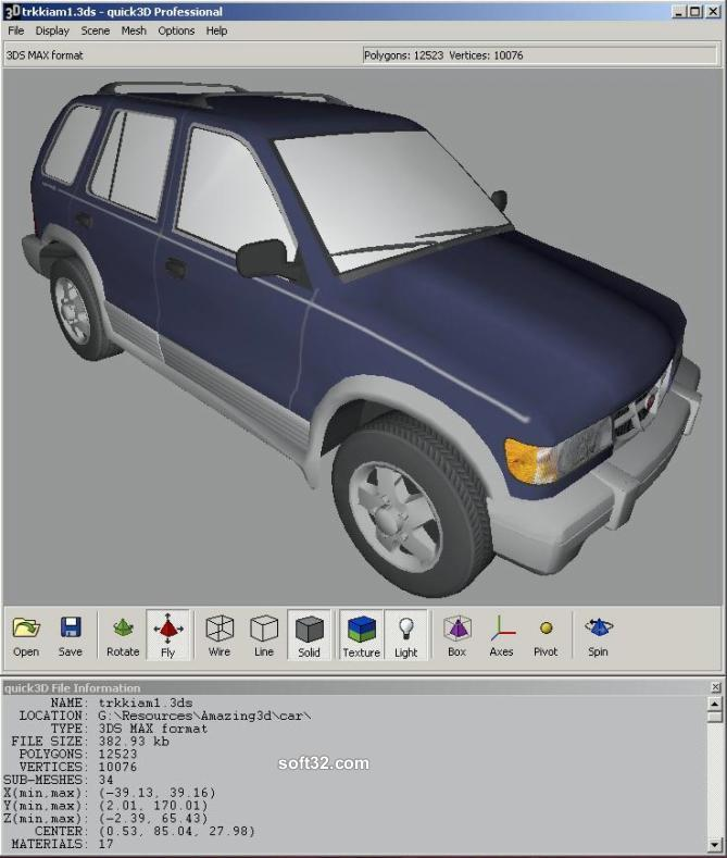 quick3D Viewer Screenshot 3
