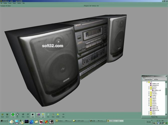 quick3D Geometry Screenshot 3