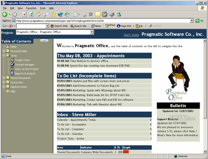 Pragmatic Office Screenshot 3