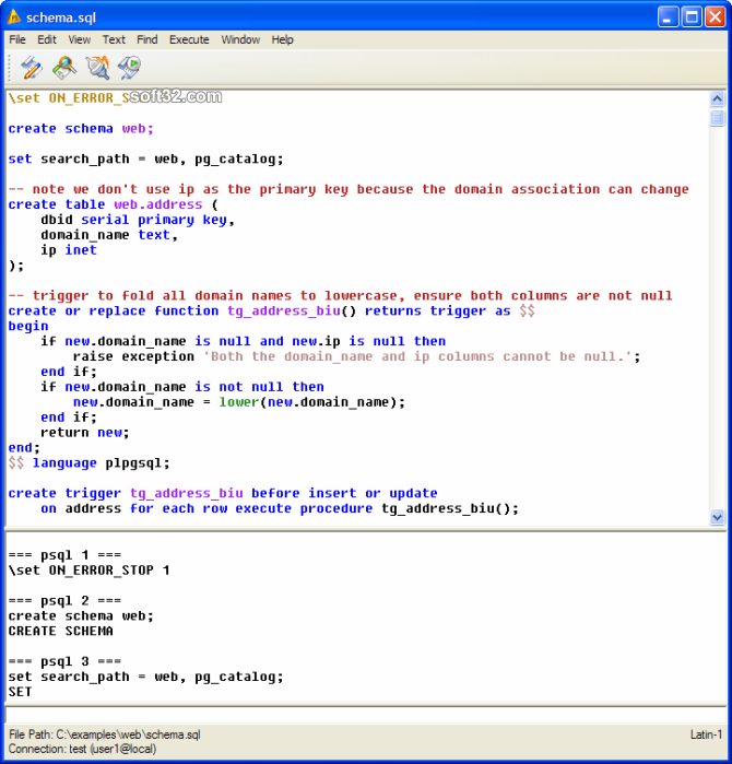 pgEdit Screenshot 3