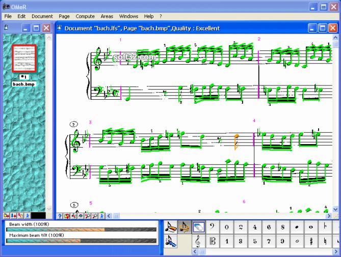 OMeR Screenshot 3