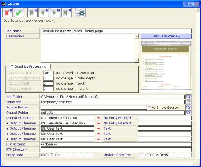Mergemill Screenshot 3
