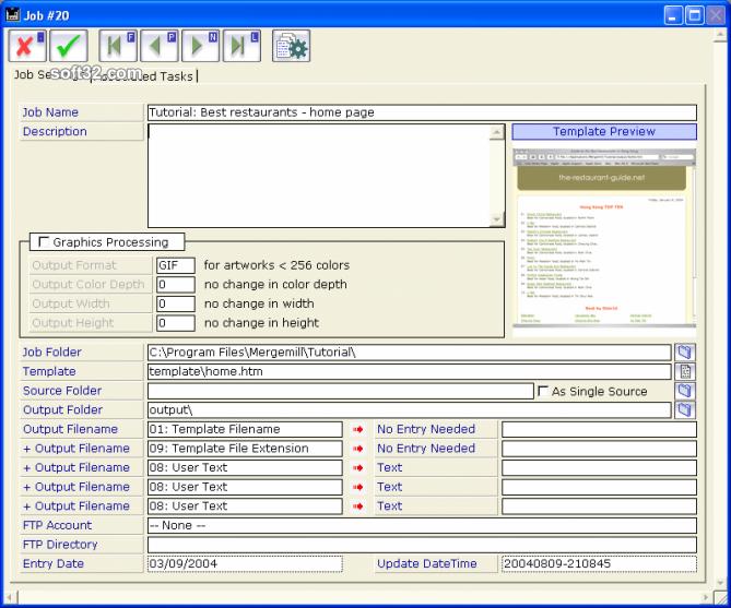 Mergemill Screenshot 2