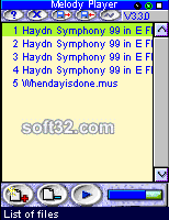 Melody Player Screenshot 2
