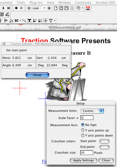 Mac PDF Measure It Screenshot