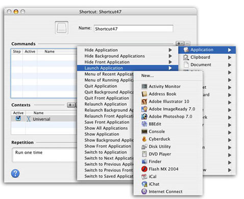 iKey 2 for Mac OS X Screenshot