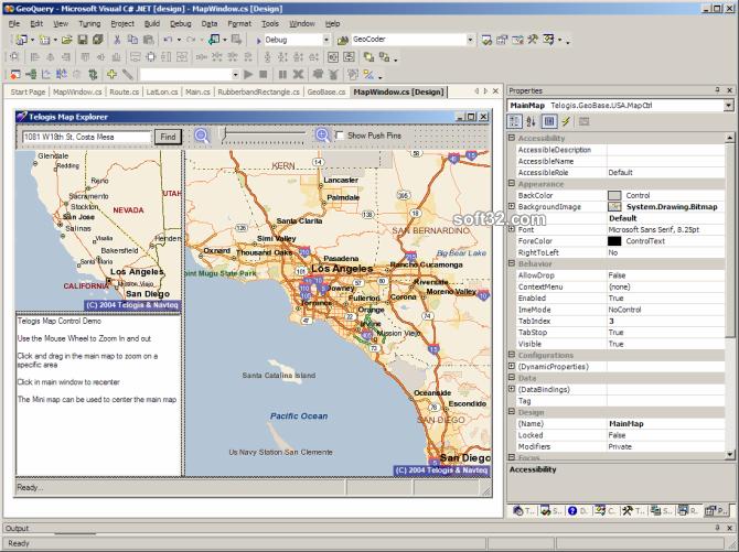 GeoBase Screenshot
