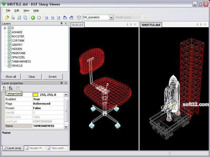 DWG DXF Sharp Viewer Screenshot 3