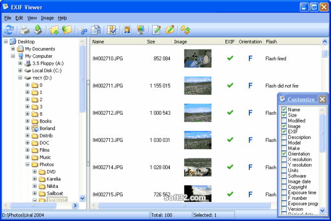 EXIFViewer Screenshot 3