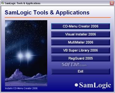 SamLogic CD-Menu Creator Screenshot 3