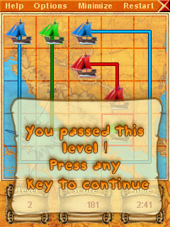 Sea puzzle for Pocket PC Screenshot 1