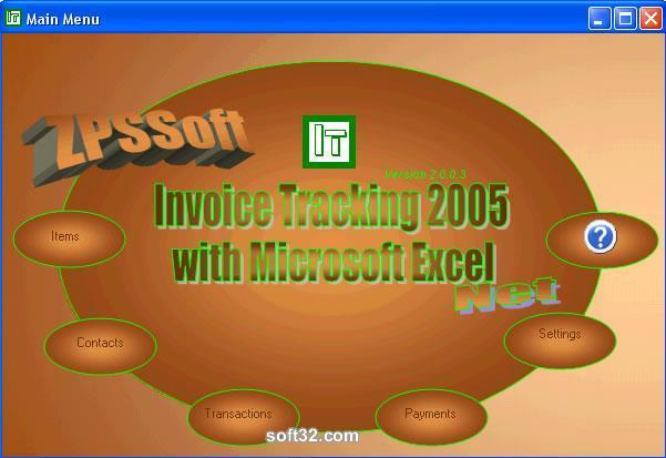 Invoice Tracking 2005 NET Screenshot 2