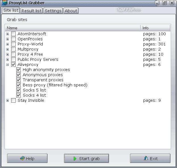 ProxyList Grabber Screenshot 3