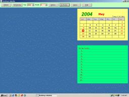 BestShareware Desktop Calendar Screenshot