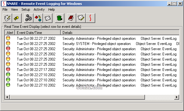 Snare Agent for Windows Screenshot 3