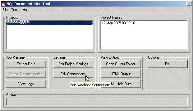 SQL Documentation Tool Screenshot 2