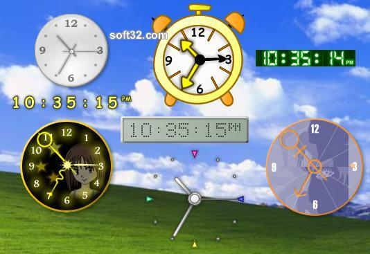 WinClock Pro Screenshot