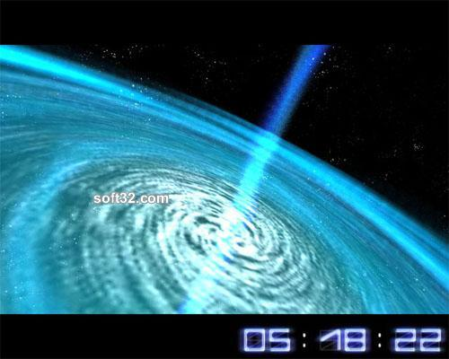 Space Flight 3D Screensaver Screenshot 3