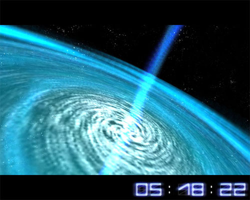 Space Flight 3D Screensaver Screenshot 2