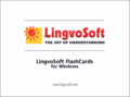 LingvoSoft FlashCards English <-> Greek for Windows 1