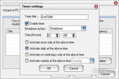 PC Auto Shutdown Screenshot 6